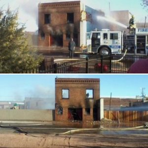 C.A.Robbins Funeral Home Destroyed by Fire