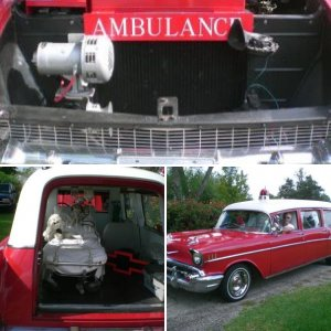 1957 Chevy Ambulance