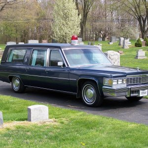 1977 Cadillac Superior Sovereign Combination purchased from the Bartley-Deckman Funeral Home in Malvern