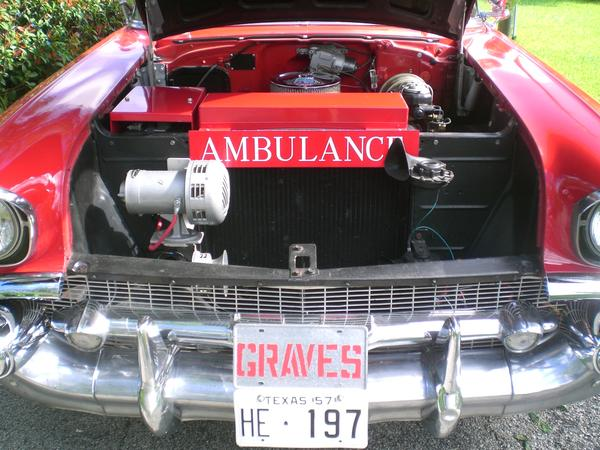Engine compartment with Federal Siren model 28